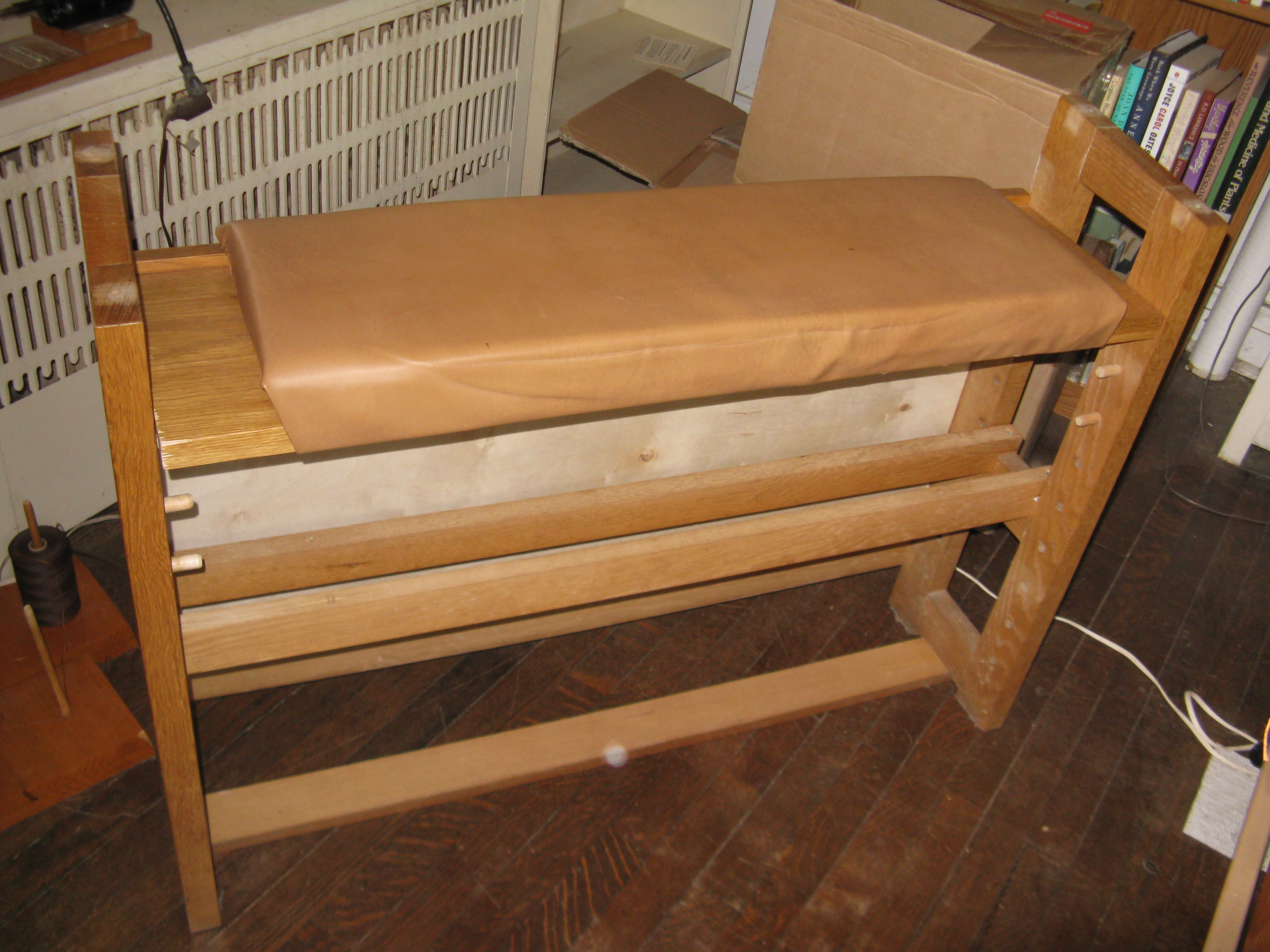 PDF Plan: Loom Bench Woodworking Plans – Woodworking Projects
